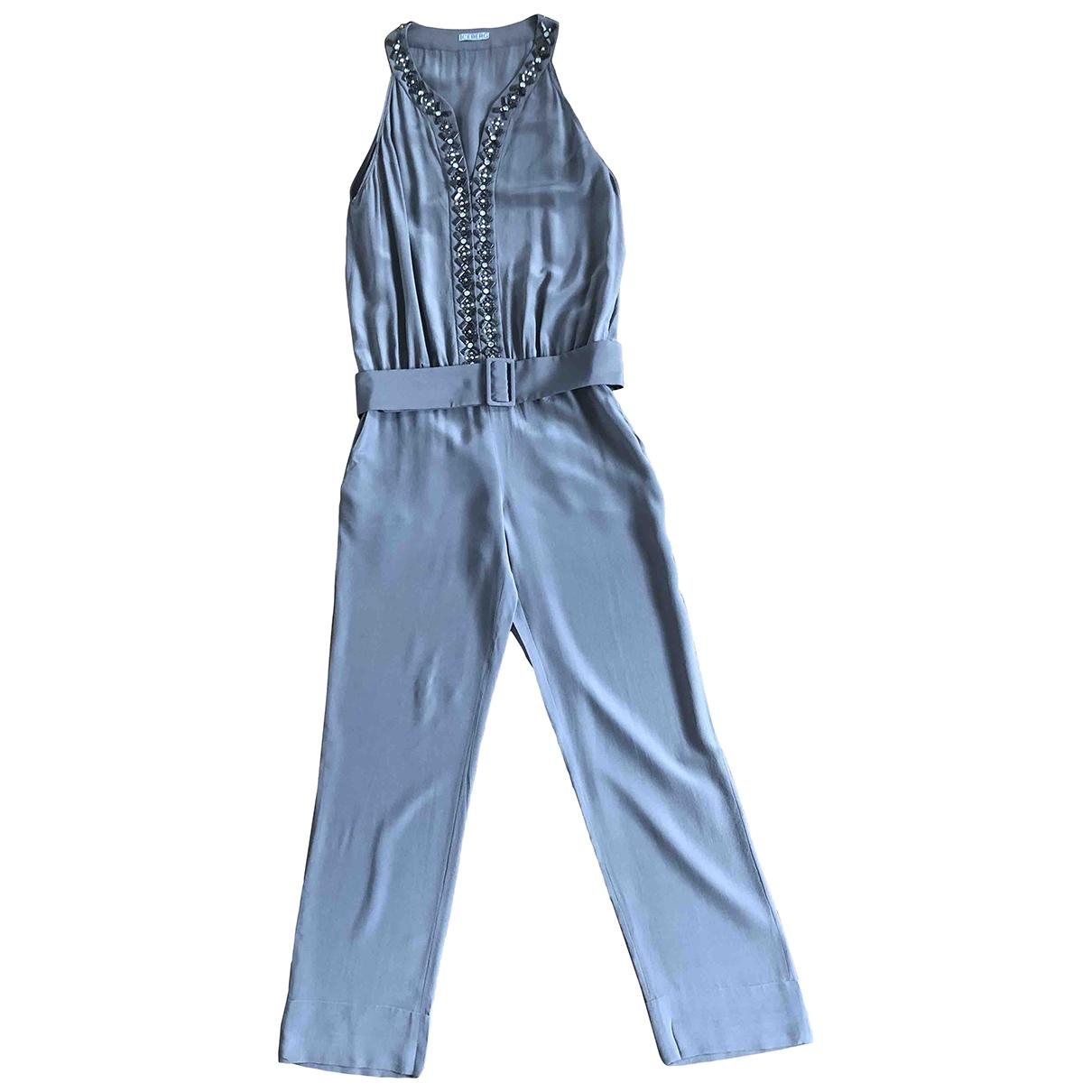 Iceberg \N Grey Silk jumpsuit for Women 40 IT