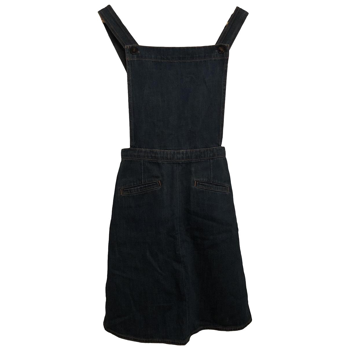 Mih Jeans \N Kleid in  Blau Denim - Jeans