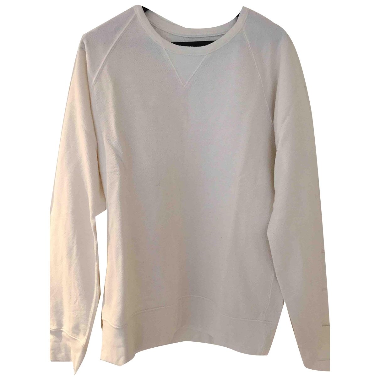 J.crew \N White Cotton Knitwear & Sweatshirts for Men L International