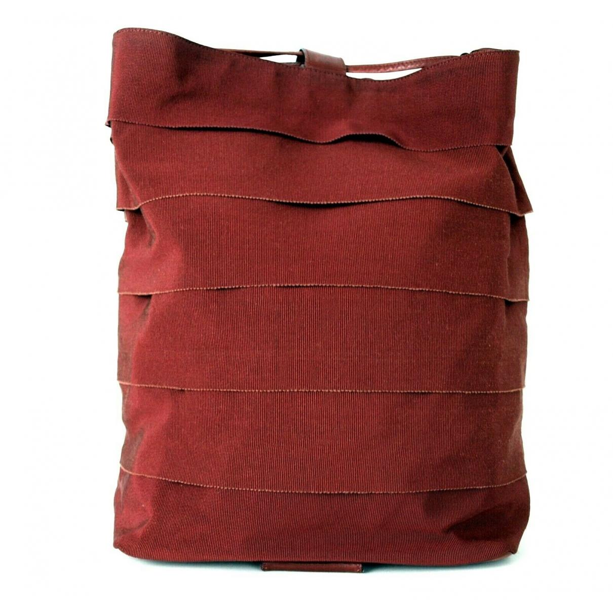 Salvatore Ferragamo \N Handtasche in  Rot Leder