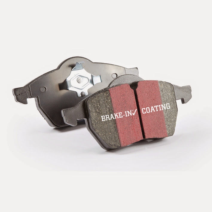 EBC Brakes UD1107 Ultimax OEM Plus Front Disc Brake Pad Set FMSI D1107 Front