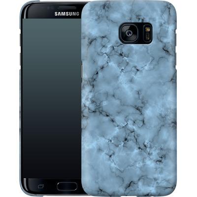 Samsung Galaxy S7 Edge Smartphone Huelle - Blue Marble von caseable Designs