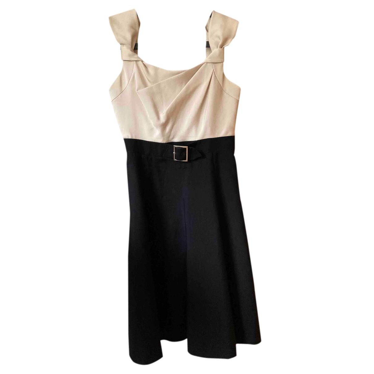 Karen Millen \N Kleid in  Beige Polyester