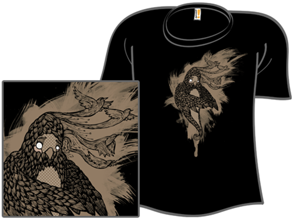 The Other Thing With Feathers T Shirt