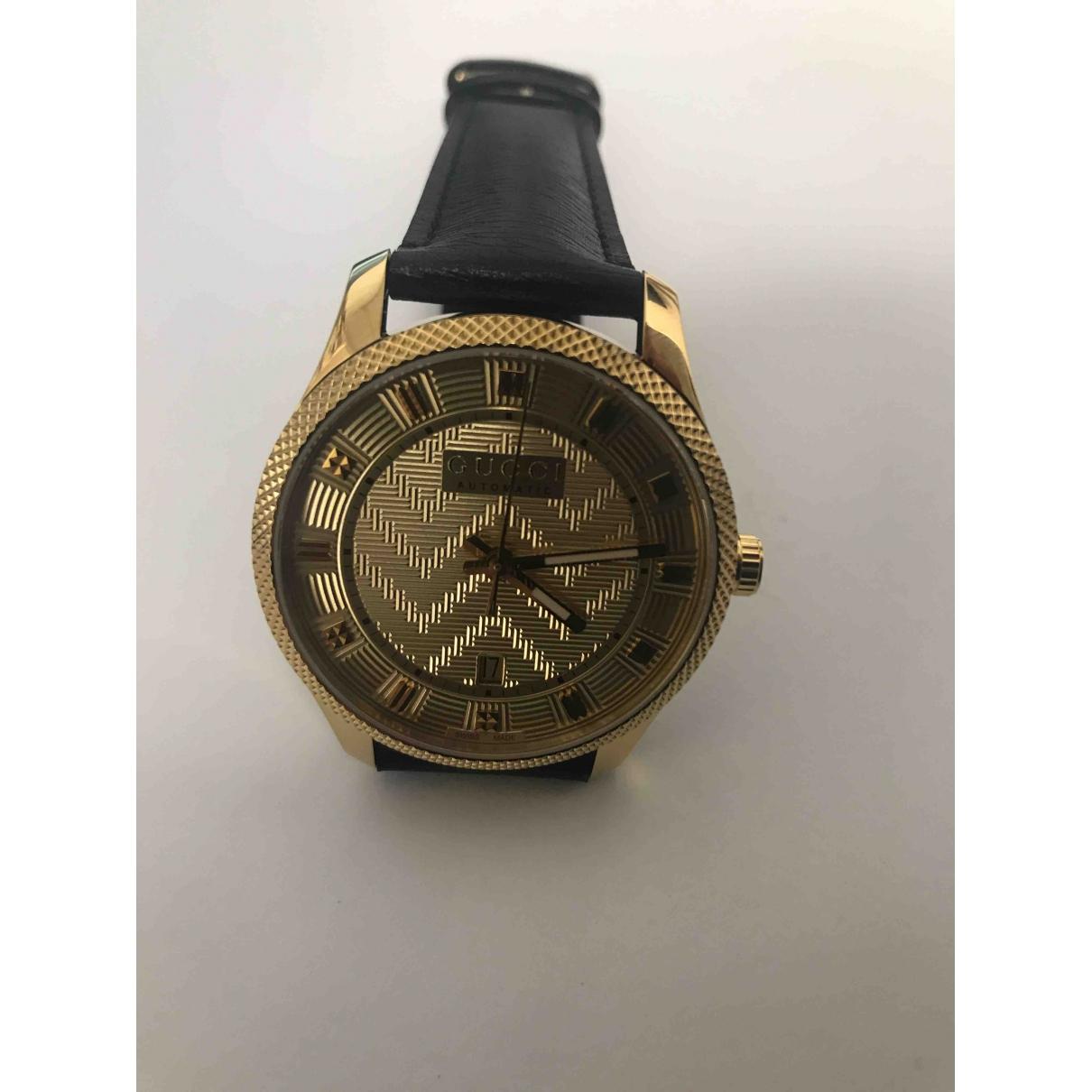 Gucci - Montre G-Timeless pour homme en plaque or - dore