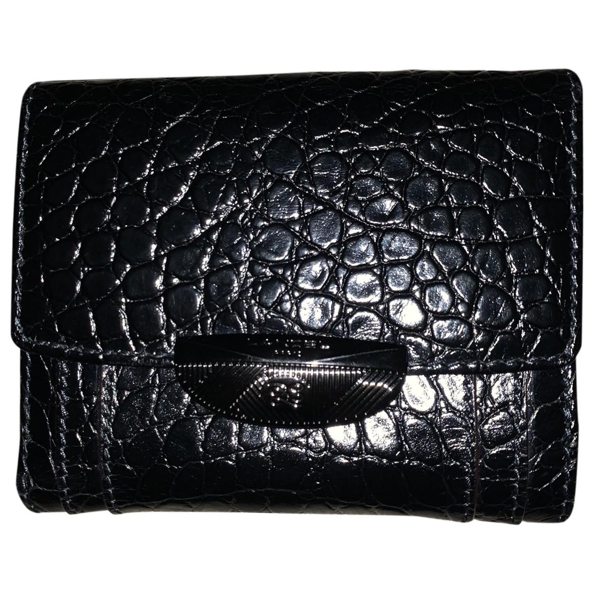 Lancel - Portefeuille Adjani pour femme en cuir - noir