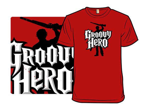 Groovy Hero T Shirt