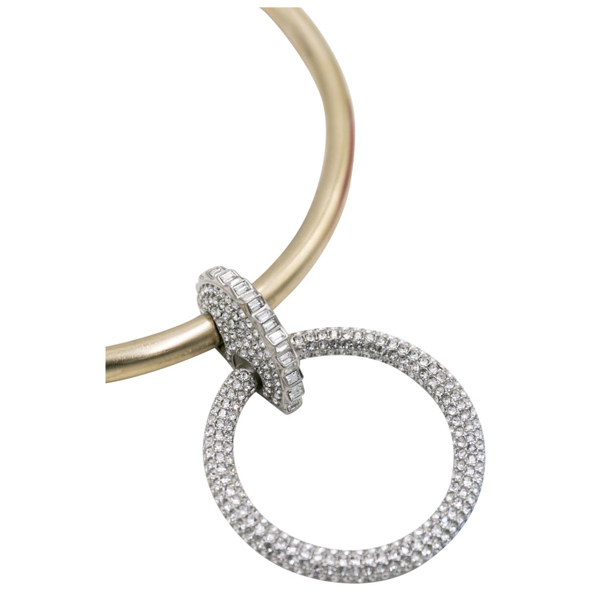 Chanel - Collier Baroque pour femme en metal - dore