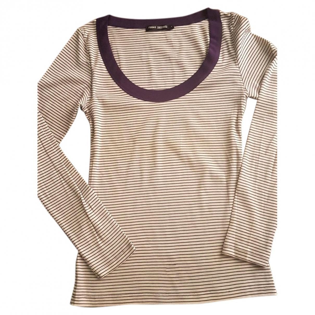 Filippa K - Top   pour femme en coton - multicolore