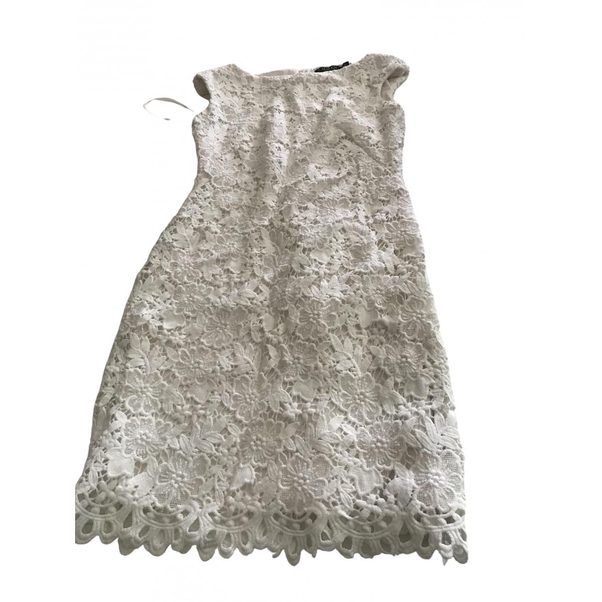 Lauren Ralph Lauren \N Kleid in  Weiss Synthetik