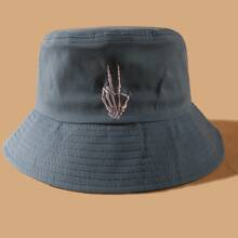 Embroidery Bucket Hat