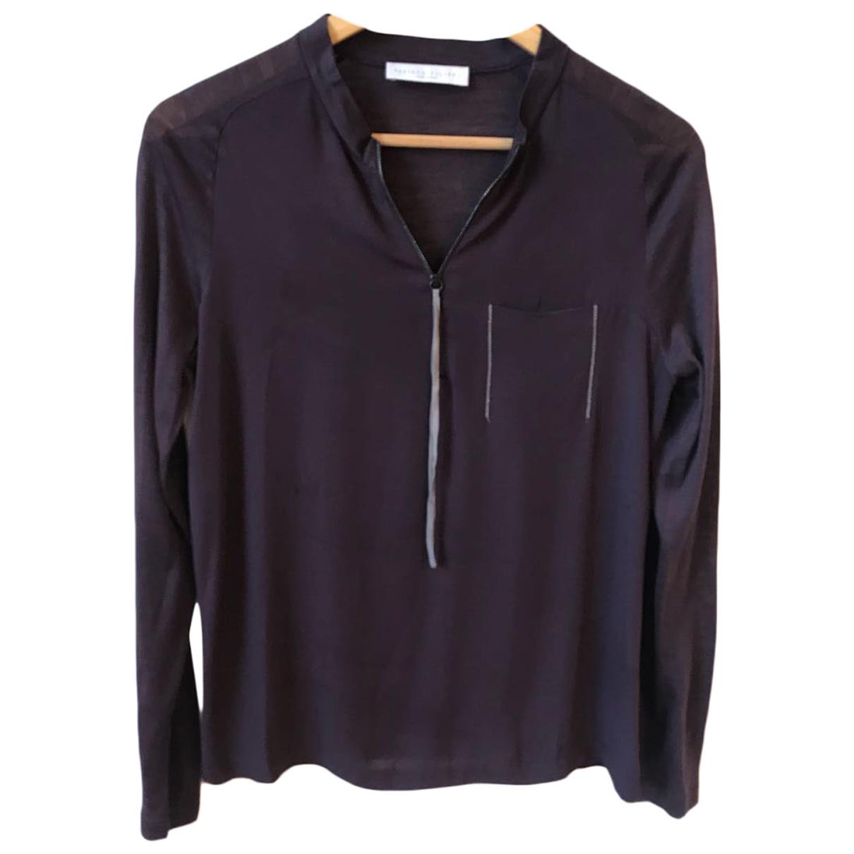 Fabiana Filippi \N Purple Silk  top for Women 38 IT