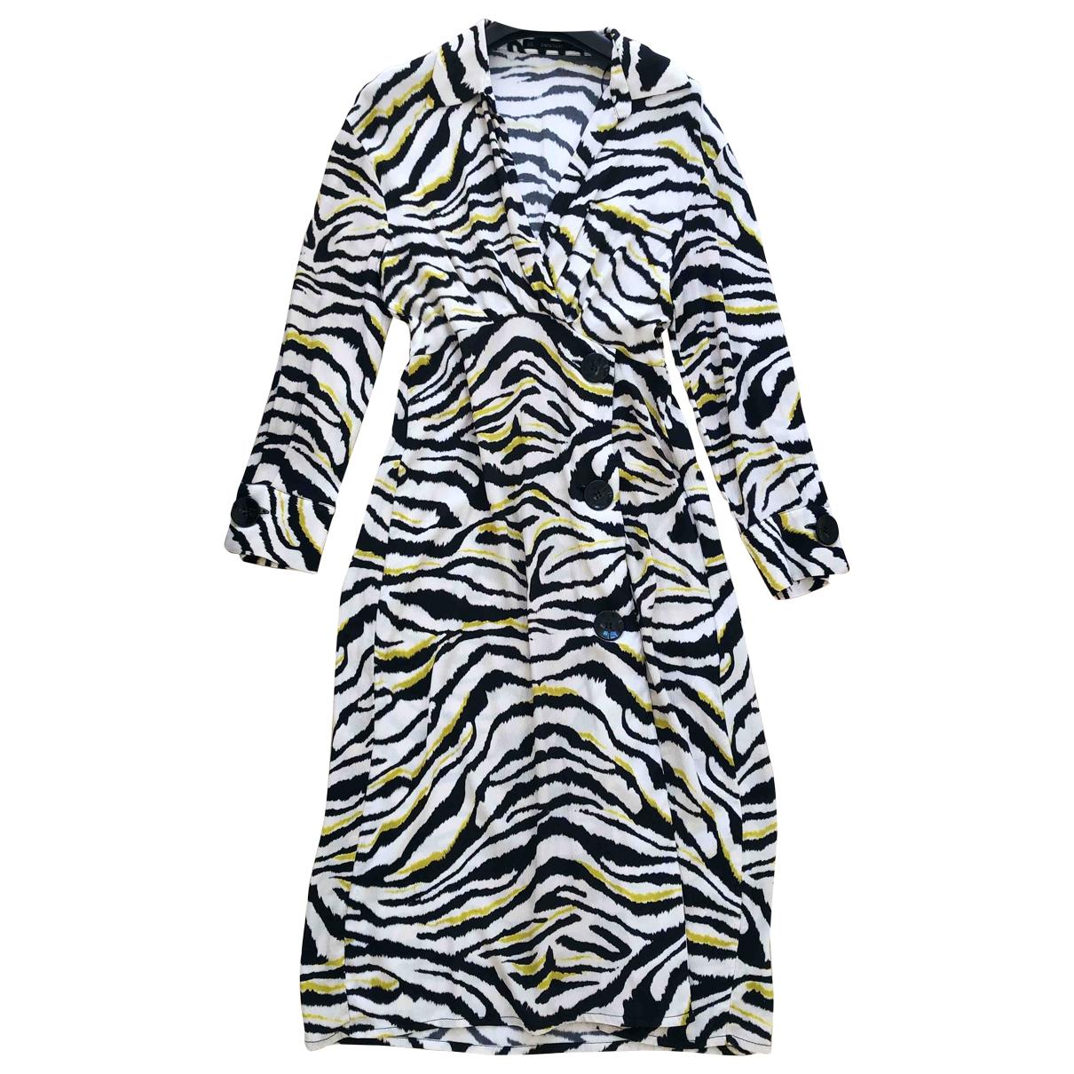 Zara \N Kleid in  Bunt Viskose