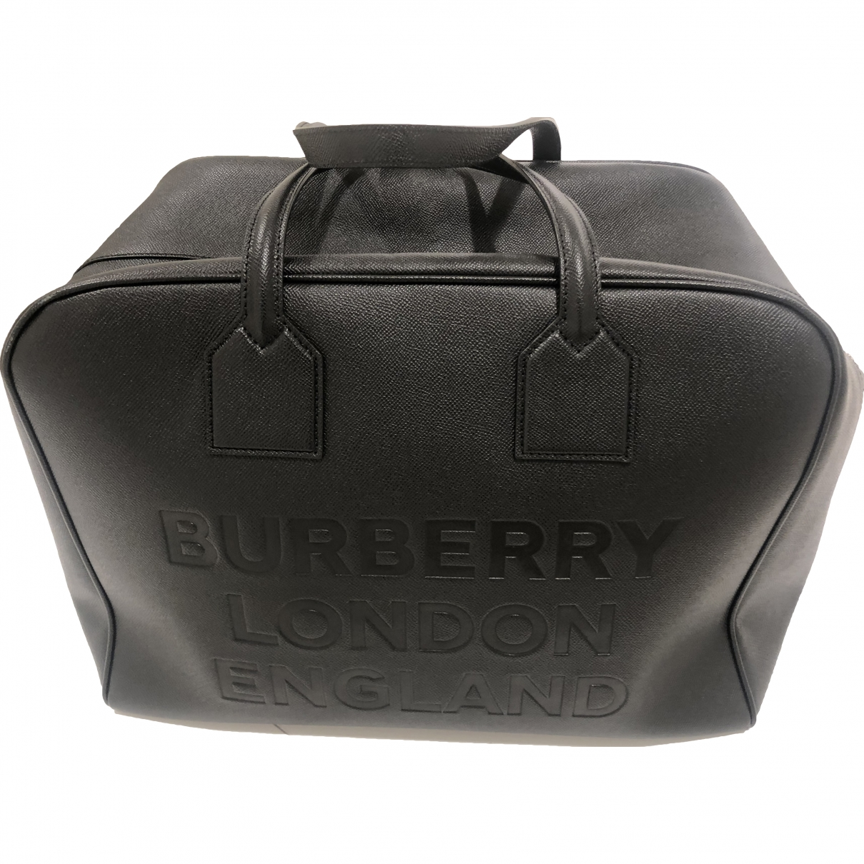 Burberry \N Black Leather Travel bag for Women \N