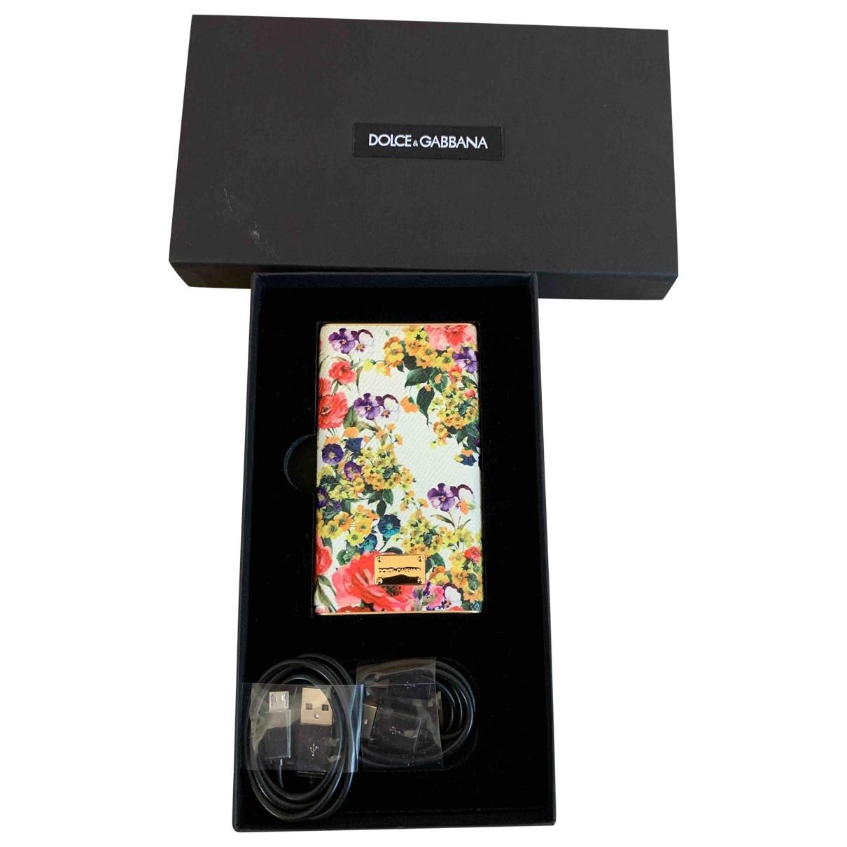 Dolce & Gabbana - Accessoires   pour lifestyle en cuir - multicolore