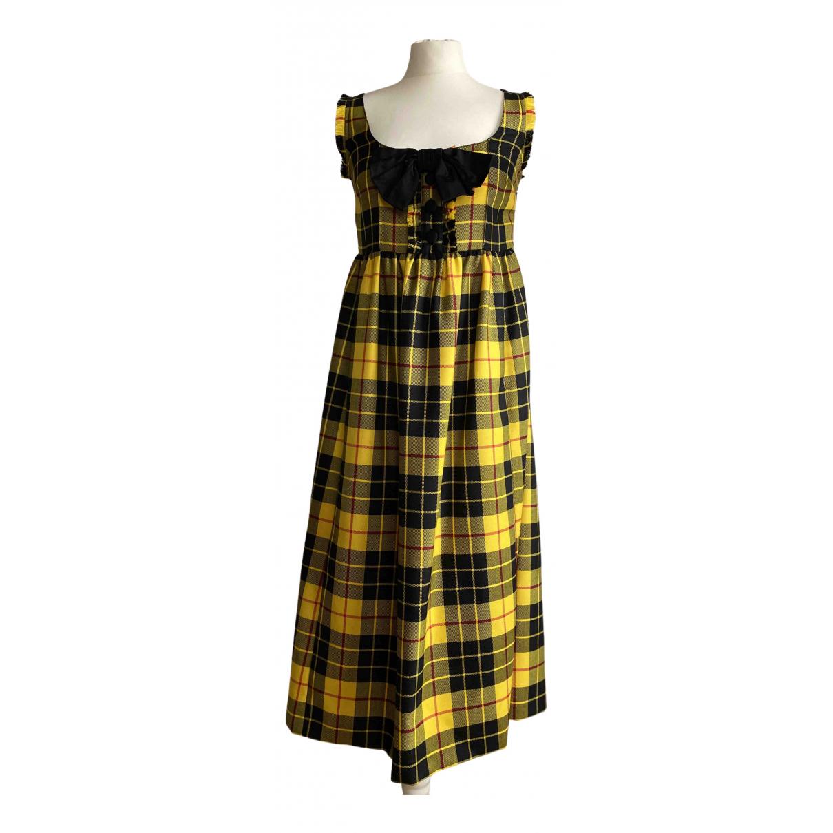 Maxi vestido de Lana Miu Miu