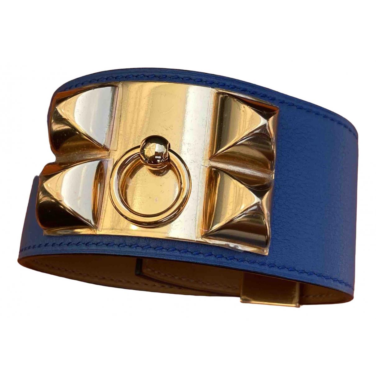 Hermès Collier de chien  Leather bracelet for Women \N