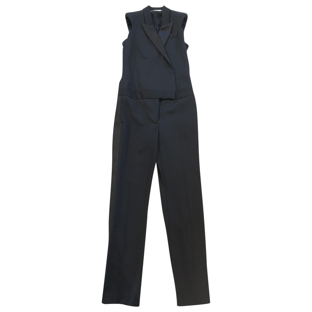 Alexander Mcqueen \N Black Wool jumpsuit for Women 40 IT