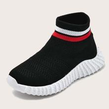 Jungen Slip On Sneakers mit weiter Passform