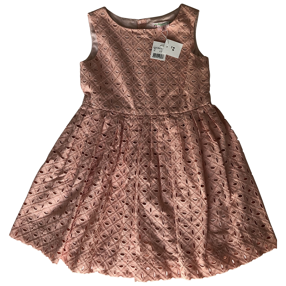 Bonpoint \N Pink Cotton dress for Kids 6 years - up to 114cm FR