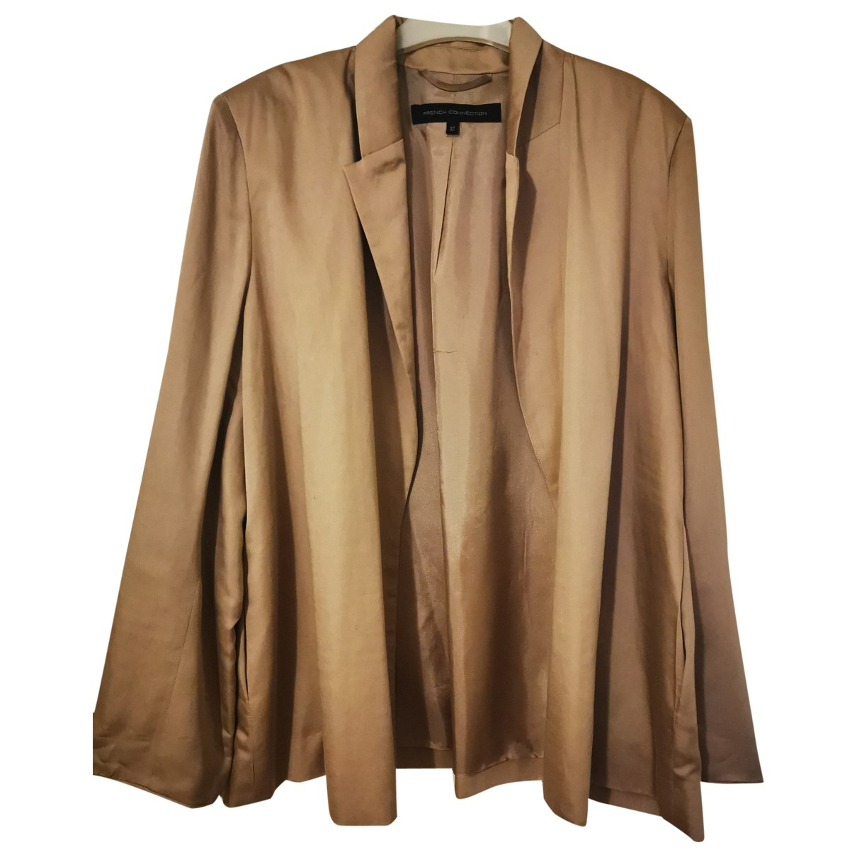 French Connection \N Camel jacket for Women 12 UK