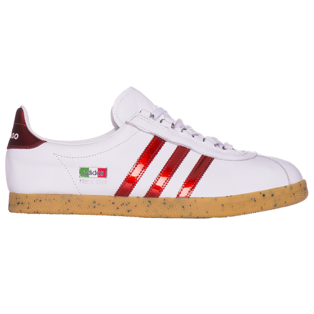 Adidas N White Leather Trainers for Men 46.5 EU