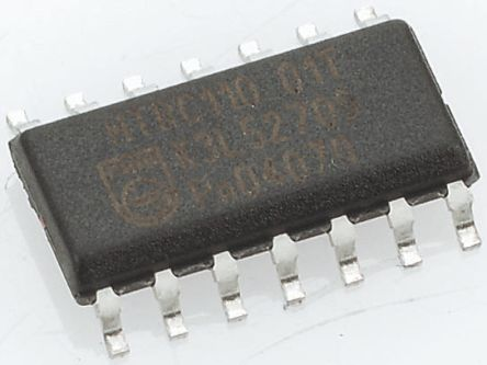 ON Semiconductor LM339DR2G , Quad Comparator, Open Collector O/P, 1.3μs 5 → 28 V 14-Pin SOIC (5)