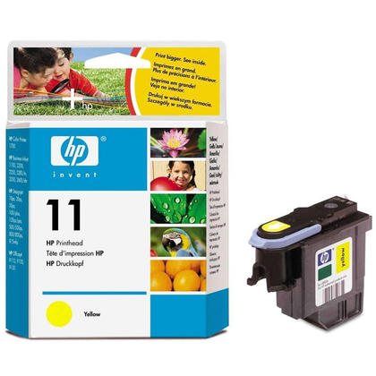 HP 11 C4813A Original Yellow Printhead