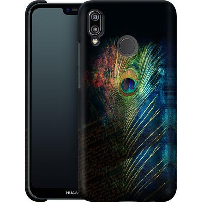 Huawei P20 Lite Smartphone Huelle - Peacock Feather von Mark Ashkenazi
