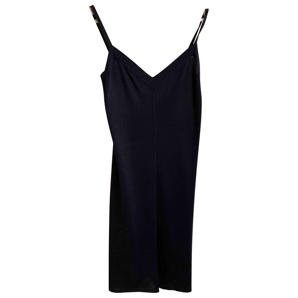 Fendi \N Kleid in  Blau Synthetik