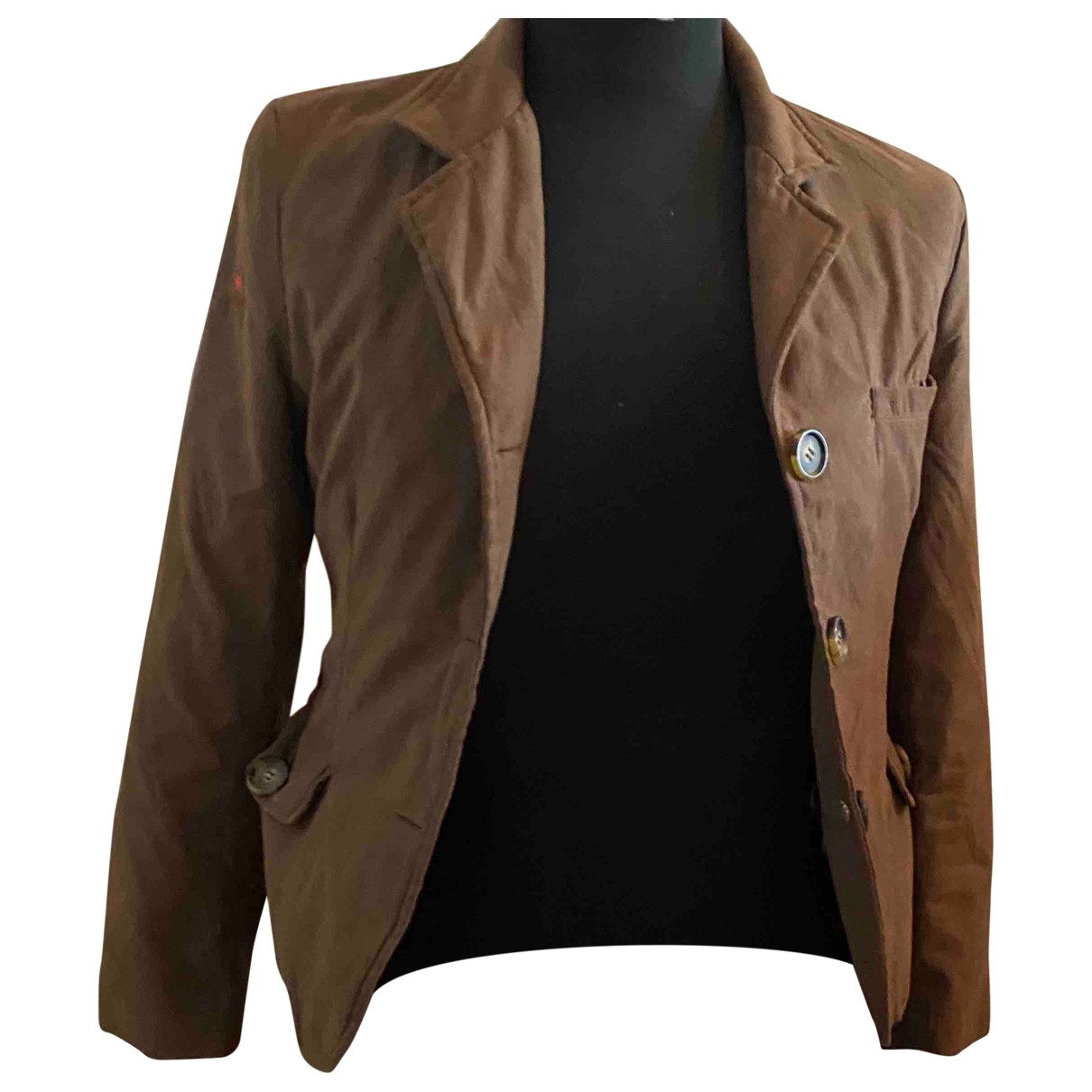 Canadian Wolf \N Brown jacket for Women 38 IT