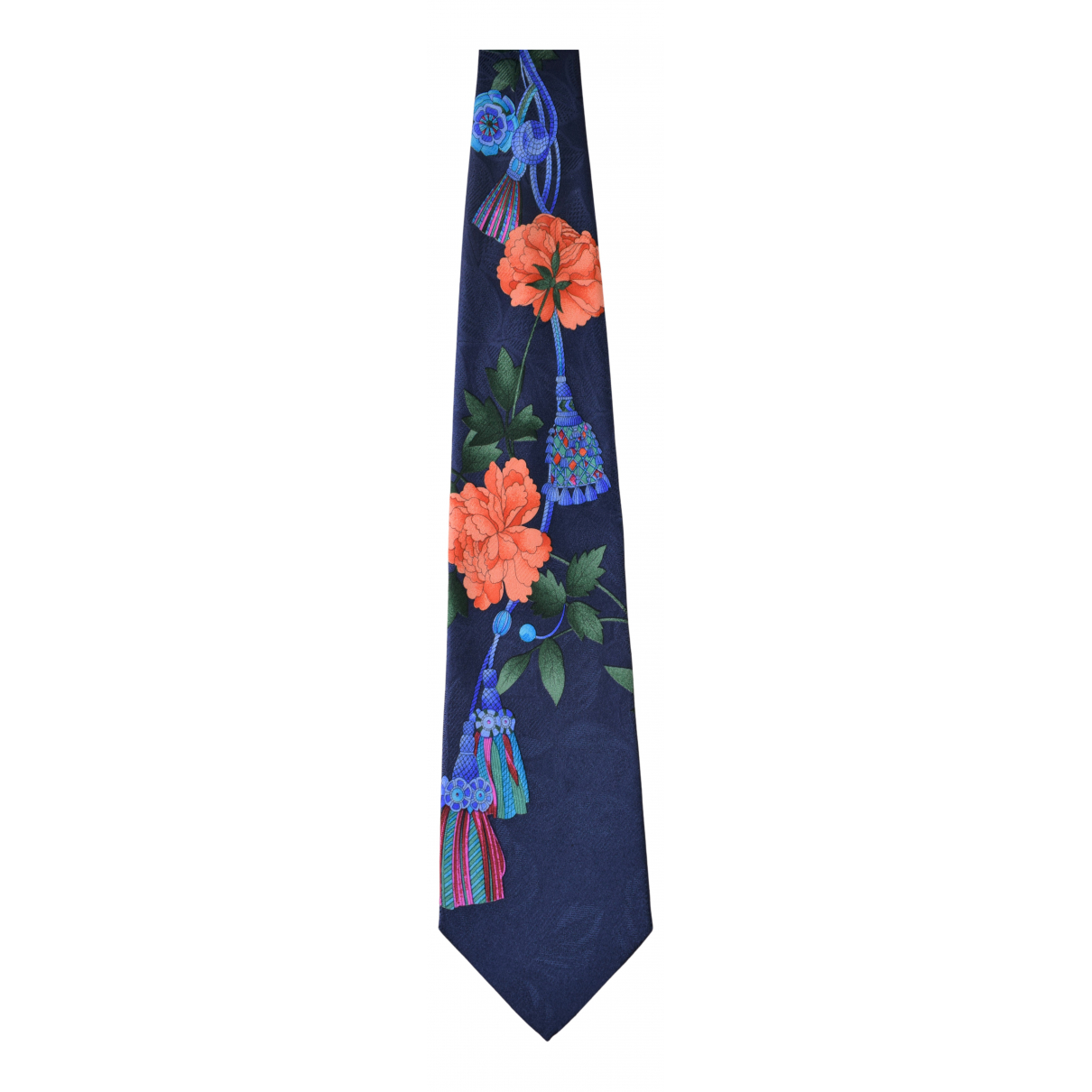 Leonard - Cravates   pour homme en soie - bleu