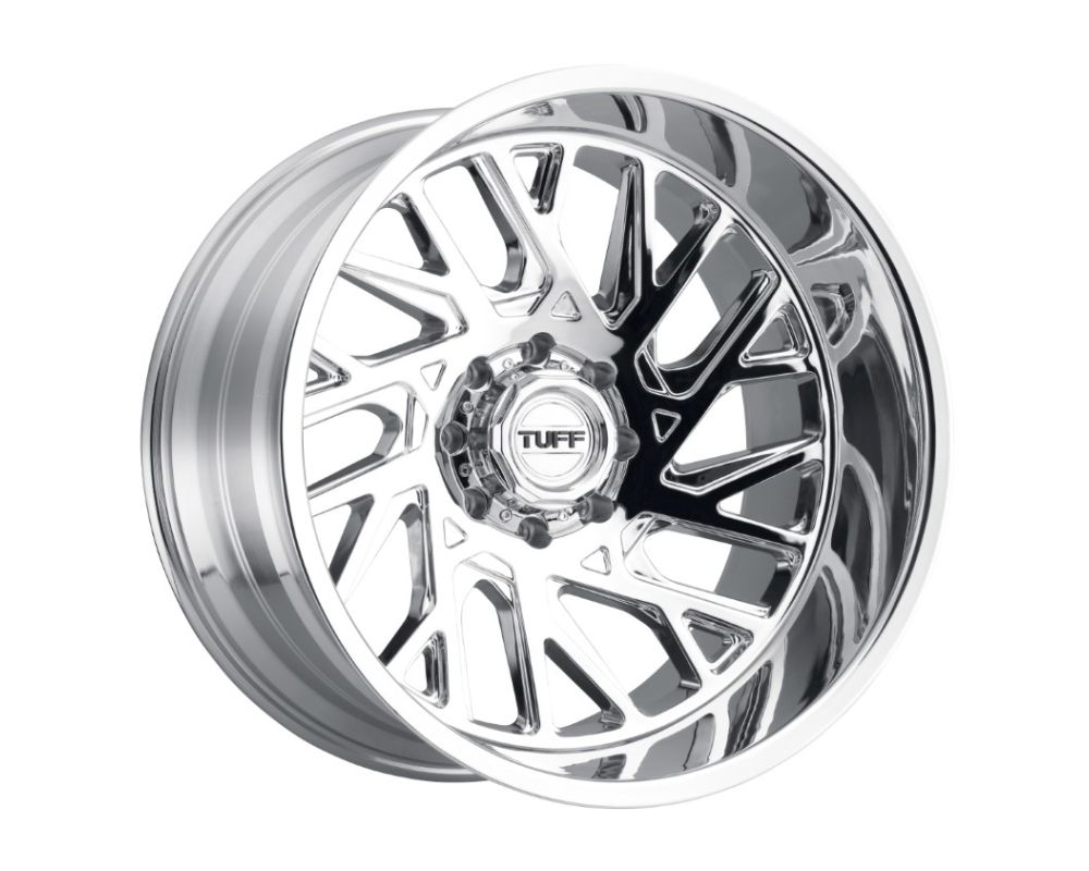 TUFF T4B Wheel 24x14 8x170 -72mm Chrome