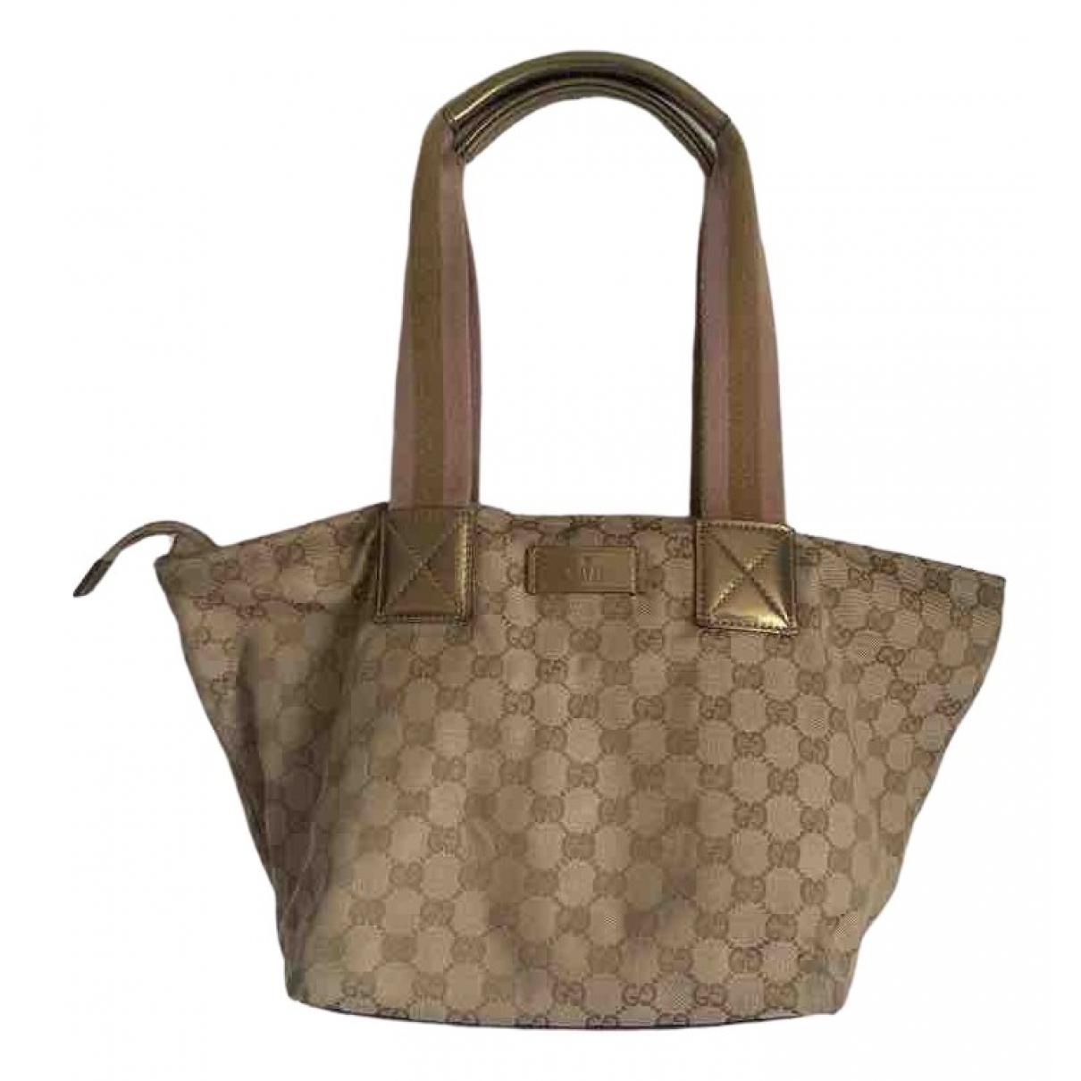 Gucci N Brown Cotton handbag for Women N