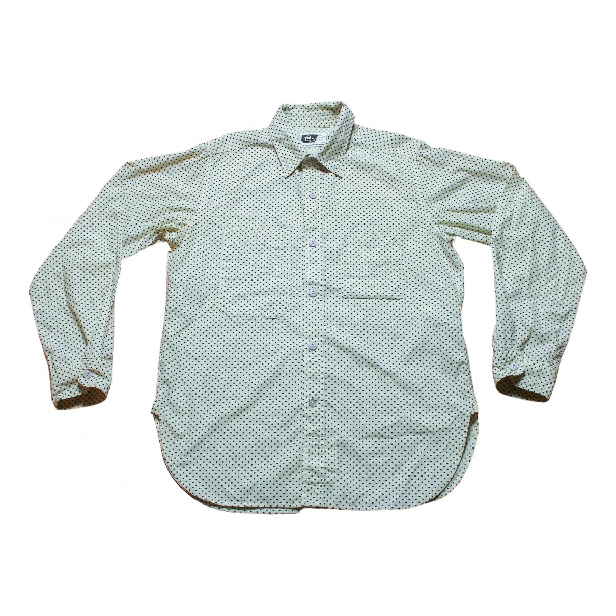 Engineered Garments - Chemises   pour homme en coton - blanc