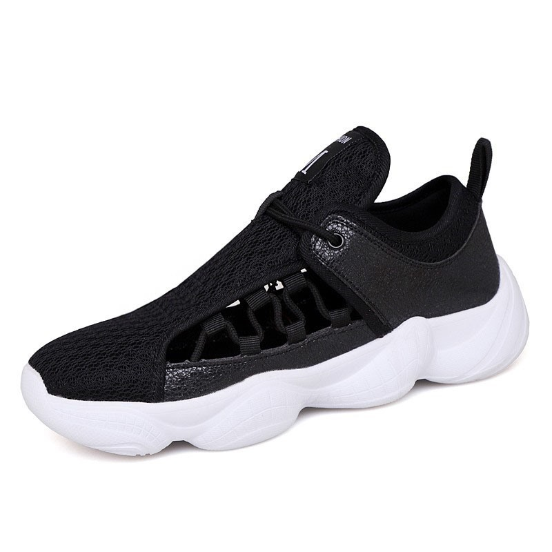 Ericdress Flyknit Low-Cut Upper Lace-Up Men's Mesh Sneakers
