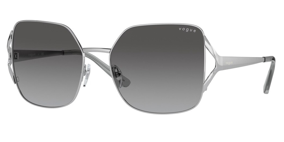 Vogue Eyewear VO4189S 323/11 Women's Sunglasses Silver Size 56