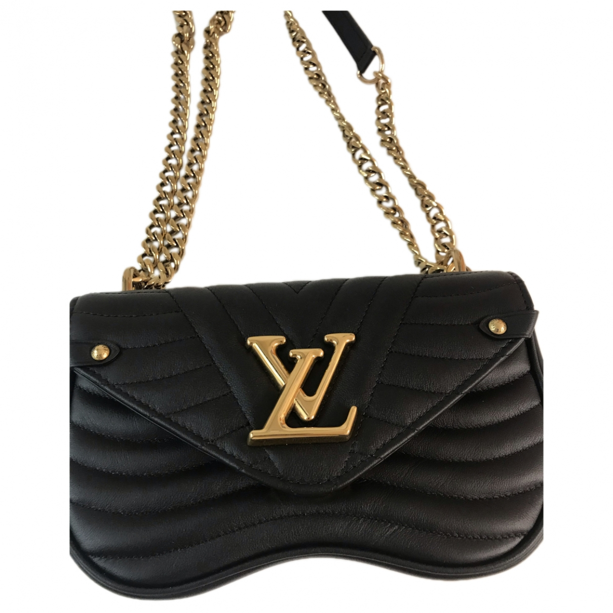 Louis Vuitton New Wave Black Leather handbag for Women \N