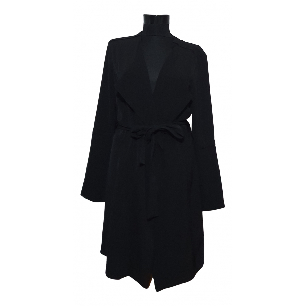 Rachel Zoe N Black Trench coat for Women M International