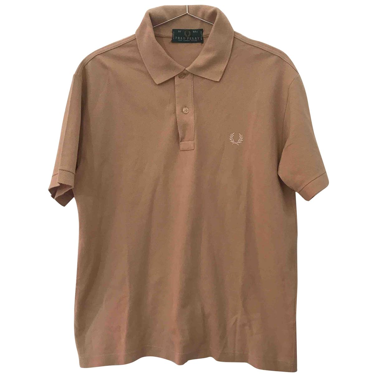 Fred Perry - Polos   pour homme en coton - beige