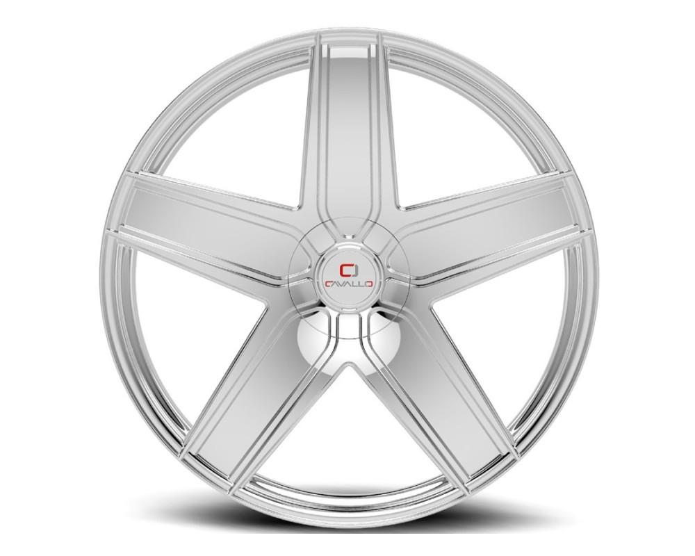 Cavallo CLV-31 Wheel 22x8.5 5x108|5x114.3 38mm Chrome
