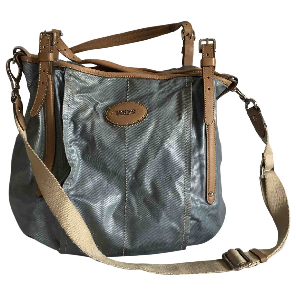 Tod's \N Blue Cloth handbag for Women \N