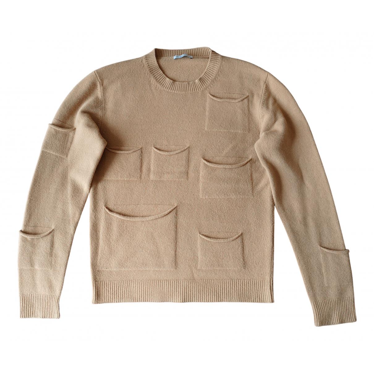 J.w. Anderson \N Beige Wool Knitwear & Sweatshirts for Men M International
