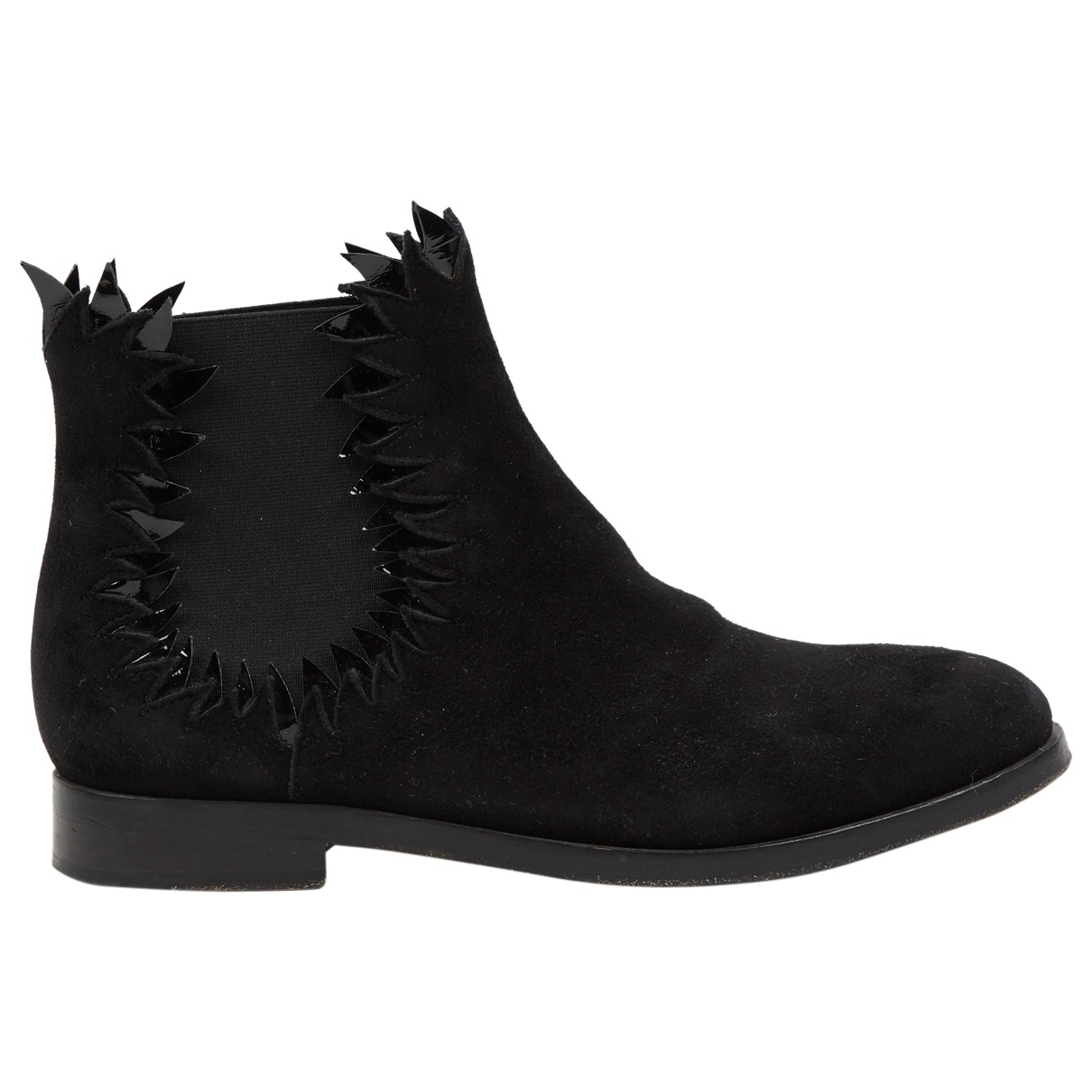 Alaïa \N Black Suede Ankle boots for Women 39.5 EU