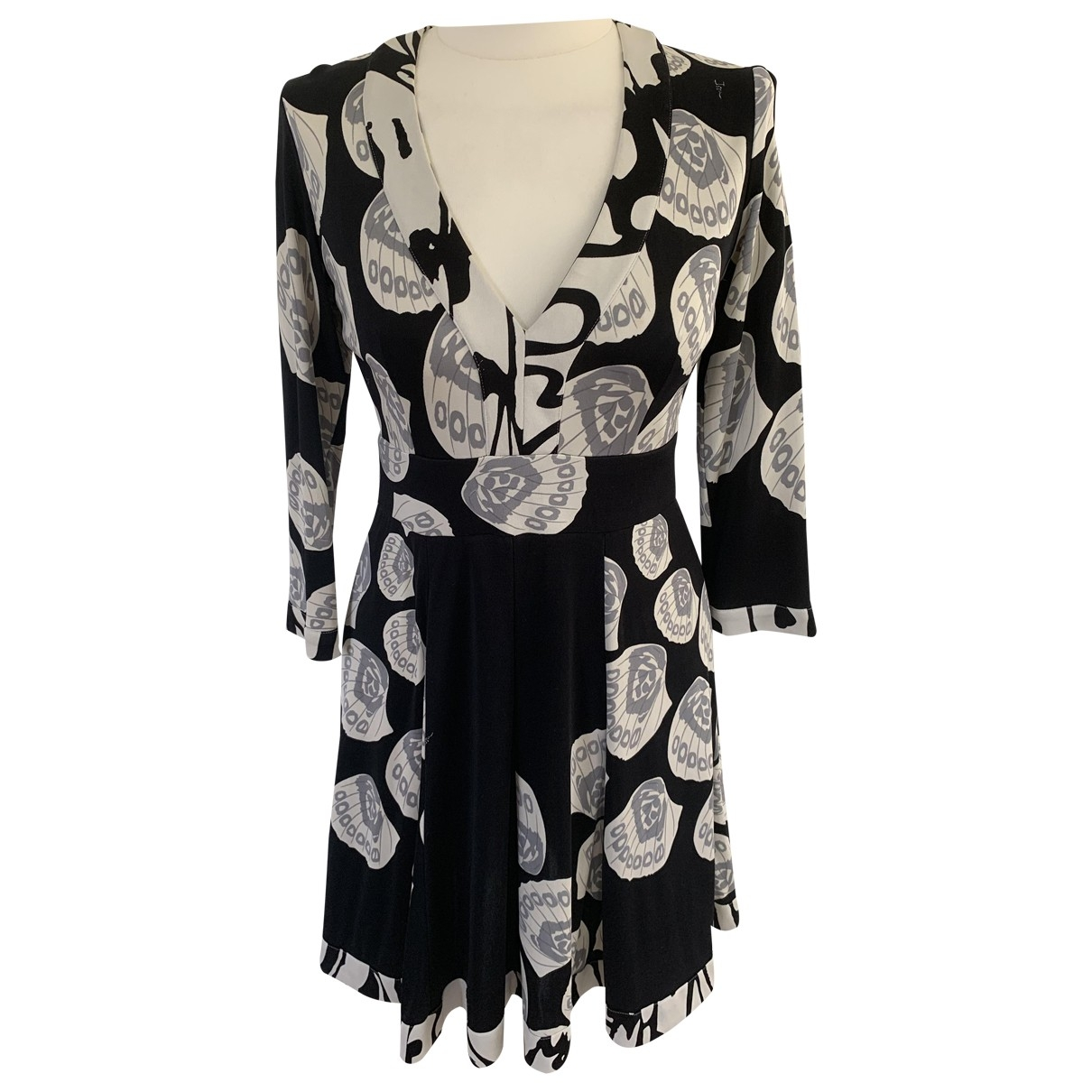 Issa \N Black Silk dress for Women 10 UK