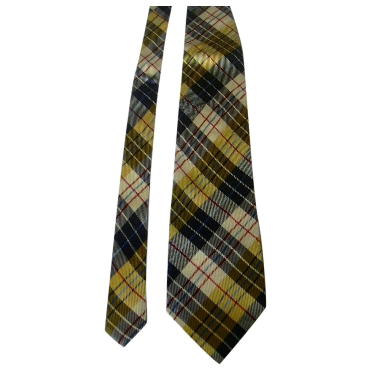 Moschino \N Multicolour Silk Ties for Men \N