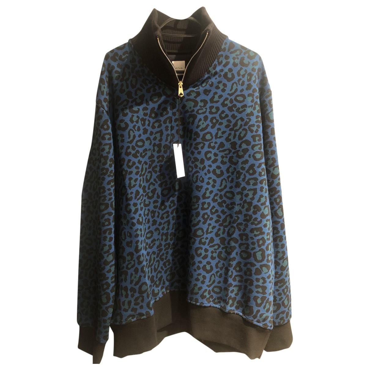 Paul Smith \N Pullover.Westen.Sweatshirts  in  Blau Baumwolle