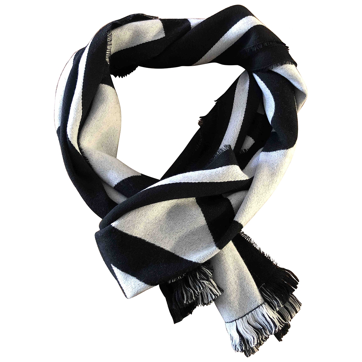Givenchy \N Black Wool scarf for Women \N