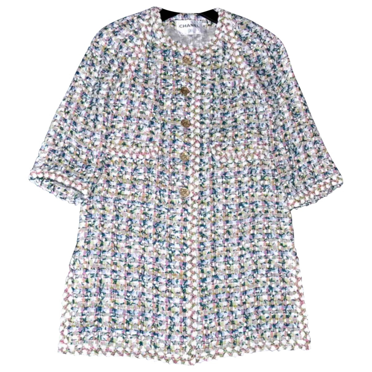 Chanel N Multicolour Tweed jacket for Women 38 FR