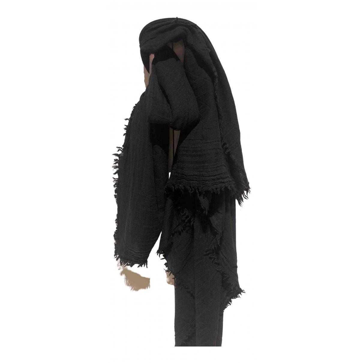Zadig & Voltaire - Foulard   pour femme en laine - noir